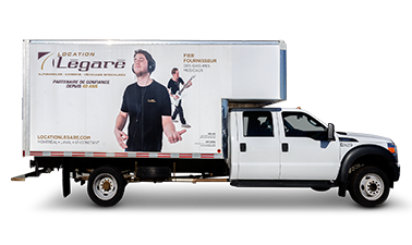 16-passenger 14-foot cube trucks