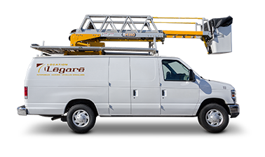 Elevated bucket trucks