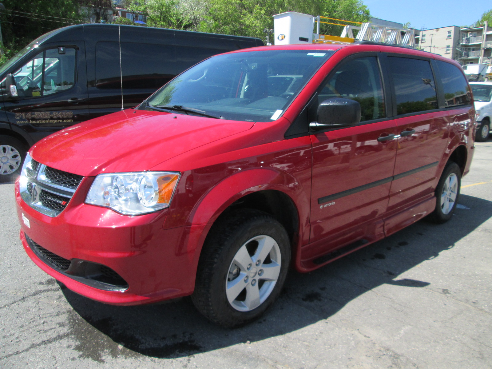 Dodge Grand Caravan adaptée 2014