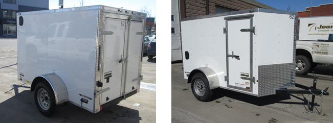 5x8 closed trailer rental