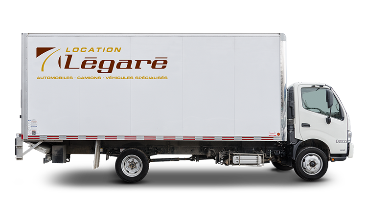 20-foot cube trucks with freight elevator