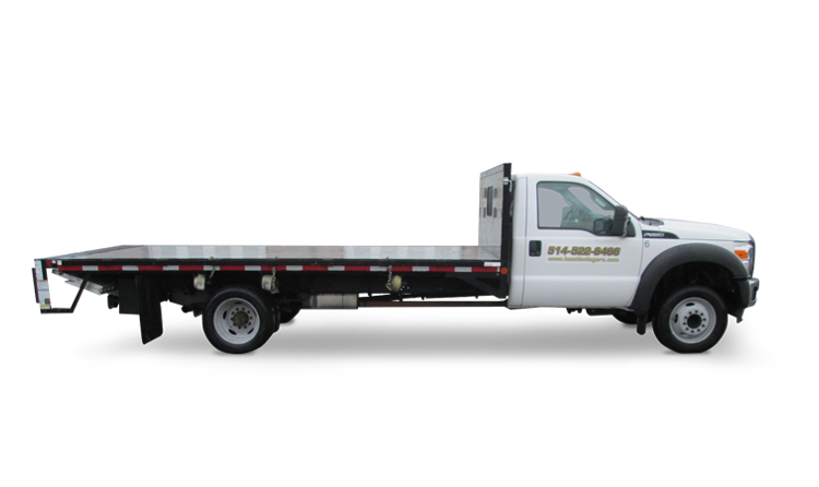 Flatbed Trailer Truck Rental In Montreal Location Legare